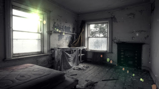 Abandoned Bedroom HD Free