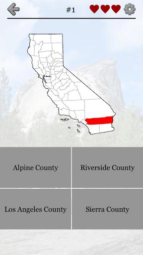 California Counties - Quiz