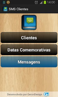 SMS Clientes- screenshot thumbnail