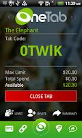 Screenshot of OneTab