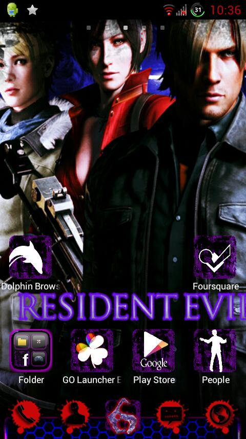 Download the Resident Evil 6 Theme Android Apps On