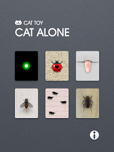CAT ALONE - Cat toy