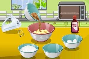 Screenshot of Oatmeal Cookies Cooking
