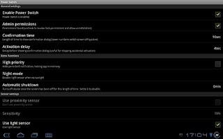 Screenshot of Power Switch Pro
