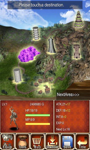 The Conqueror of Dungeons screenshot