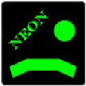 Neon Ping Pong Glow icon