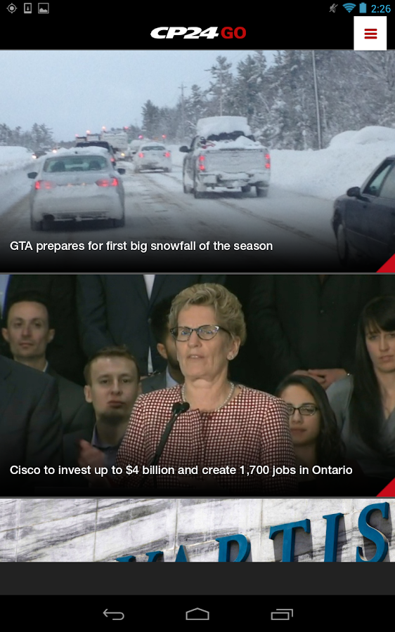 how to watch cp24 live stream