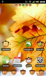 GO Luncher EX Theme Oak Tree - screenshot thumbnail