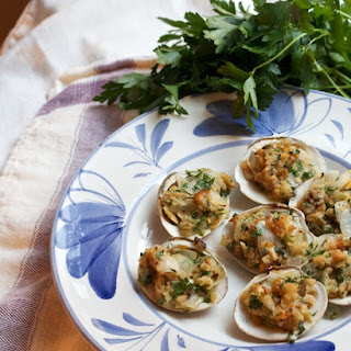 Baked Clams With Cheese Recipes.