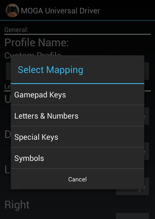 MOGA Universal Driver- screenshot