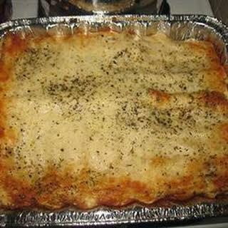 Seafood Lasagna II.