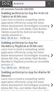 Adobe MAX yamsc 2011- screenshot thumbnail