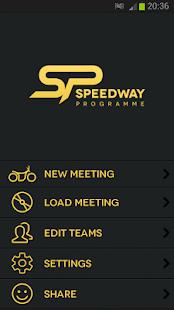 Speedway Programme- screenshot thumbnail