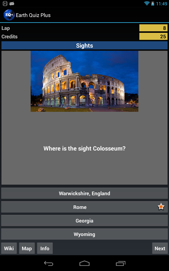Earth Quiz + a geo trivia game - screenshot