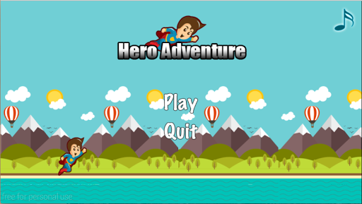 Super Hero Flying Games