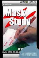 Screenshot of MaskStudy