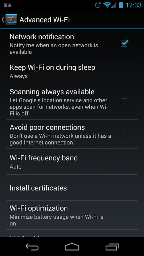 WiFi Tether Router- screenshot