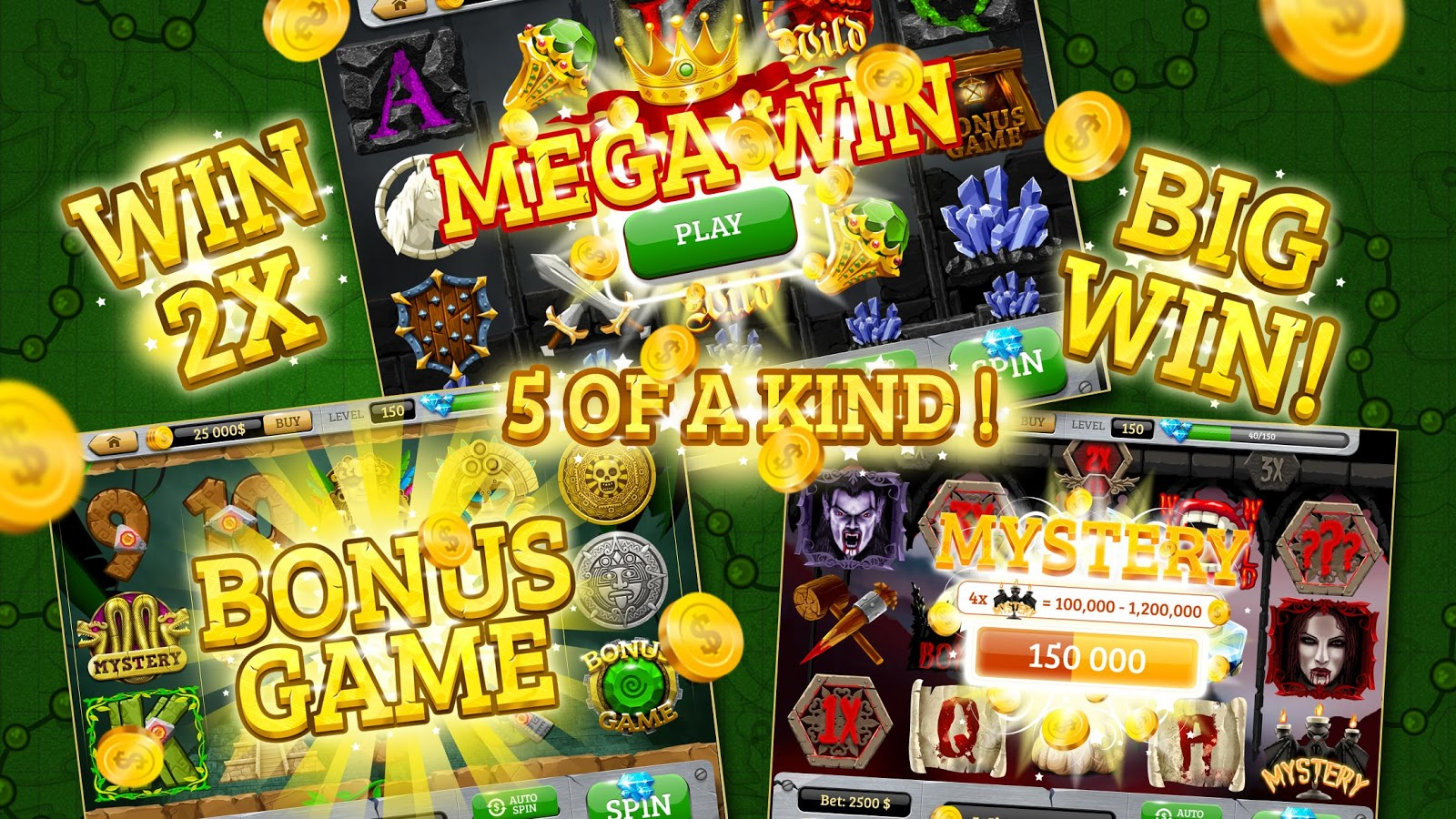 Free slot games to play offline