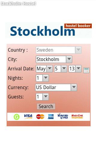 Stockholm Hostel Booking
