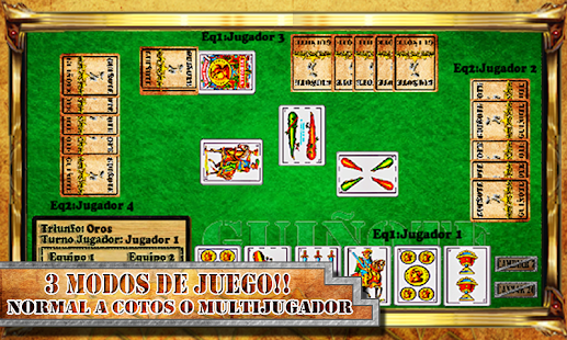 Cards Game Guinote - screenshot thumbnail