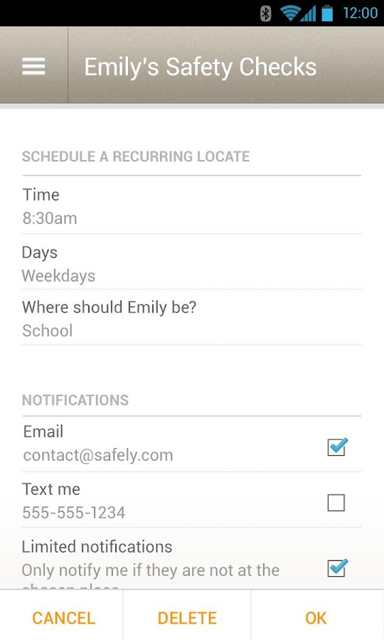 Sprint Family Locator - screenshot