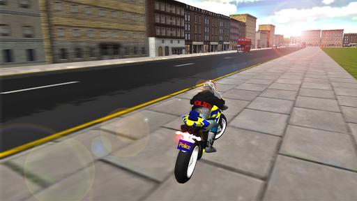 Police Motorbike Simulator