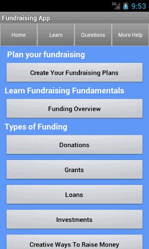Funding Fundraising Ideas