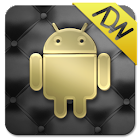 Gold and Leather ADW Theme icon
