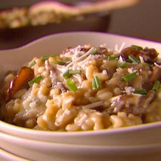 Gorgonzola And Porcini Mushroom Risotto