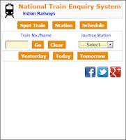 Screenshot of Train Running Status Live