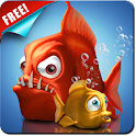 Crazy Fish Live Wallpaper Free logo