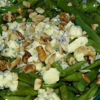 Green Beans with Blue Cheese Recipe