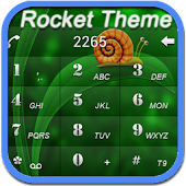 RocketDial Green3rd Theme