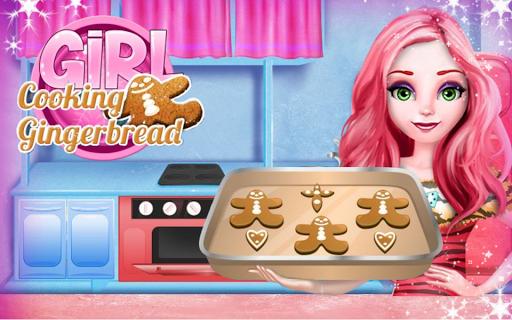 Gingerbread Cookies Cooking