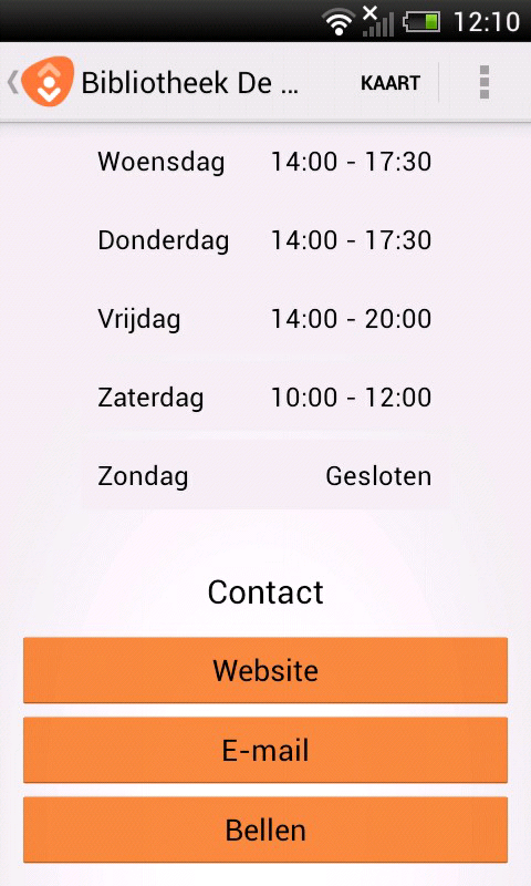 de Bibliotheek - screenshot