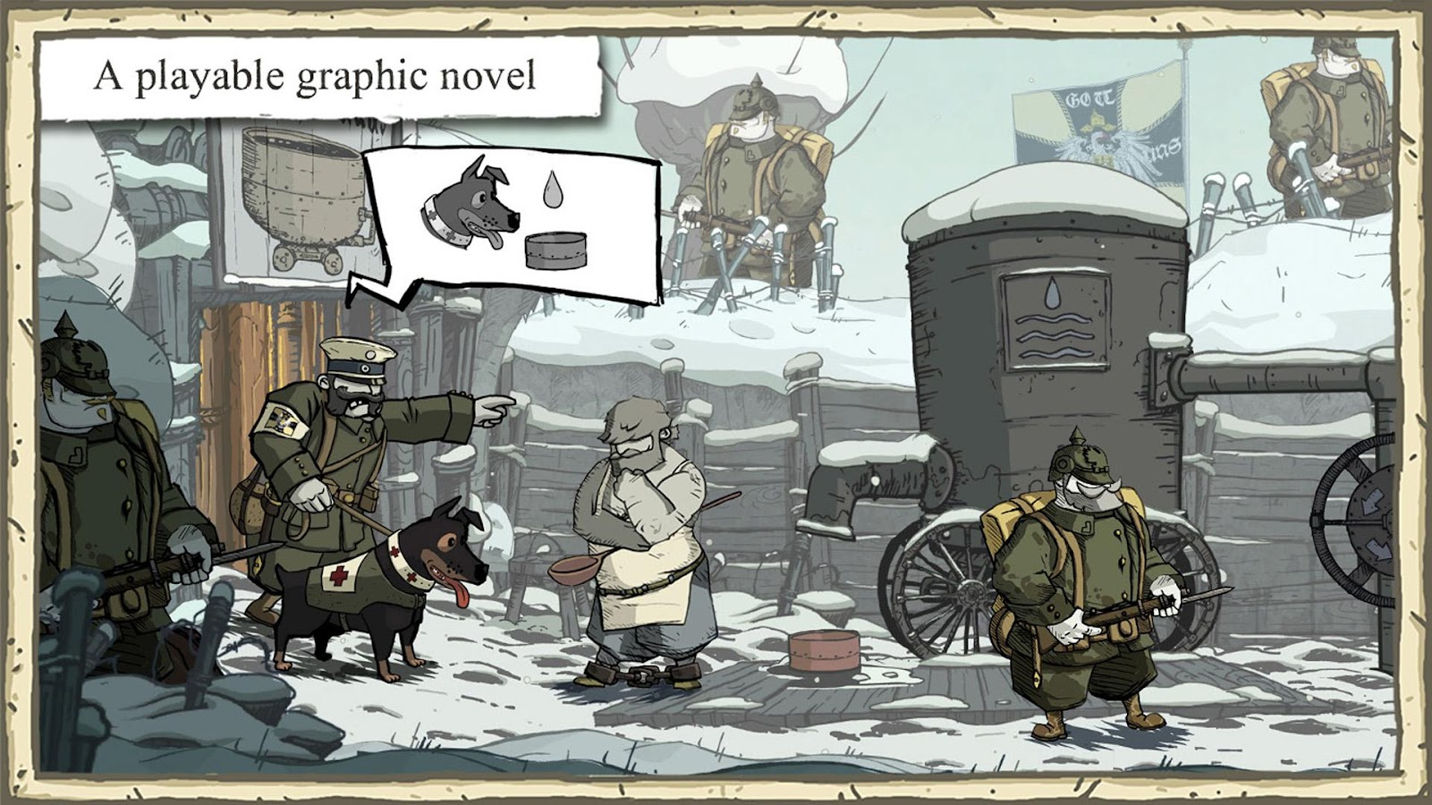 Valiant Hearts The Great War- screenshot