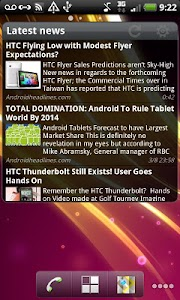 Pure news widget (scrollable) v1.4.4