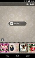 Screenshot of Vintage PhotoFrames