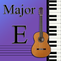 Learn Music Maj Scale Notes: E logo