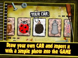 Screenshot of Paper Racer