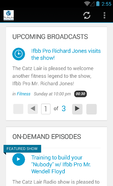 The Catz Lair: Fitness Podcast- screenshot