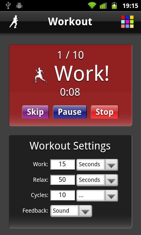 Workout- screenshot