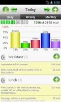Screenshot of SmartFoodTracker - Food Logger