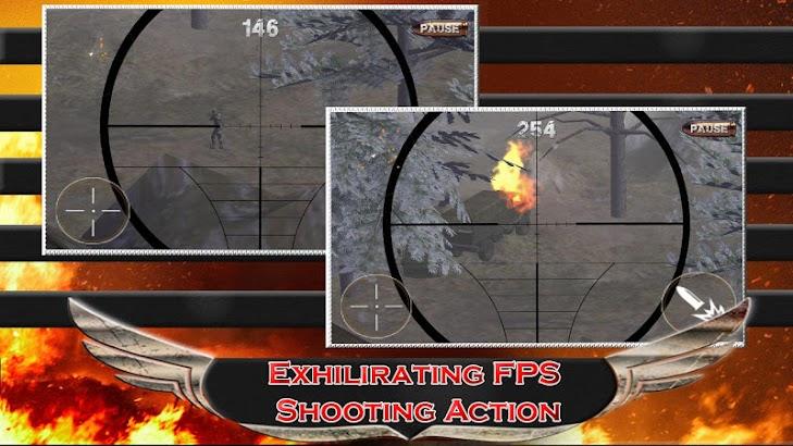 Sniper Assassin Terminator 3D screenshot