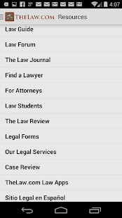Law Guide / Dictionary - screenshot thumbnail