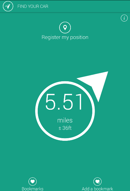Locate My Car Gps find my car allows you to locate and find your car place or what you ...
