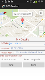 Latitude Longitude gps map screenshot