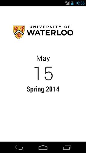 Waterloo Calendar
