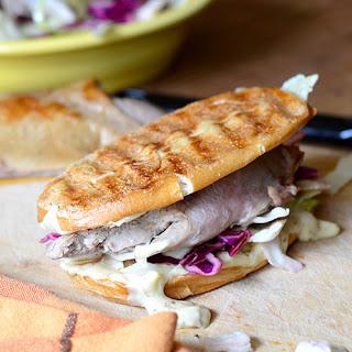 Duck Sandwich with Mustard Aioli