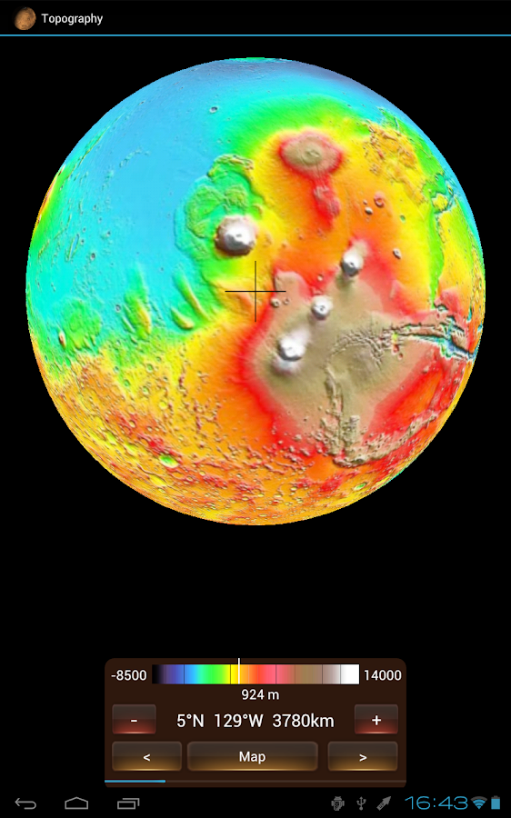 Physical Mars- screenshot